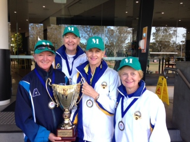 North Shore players selected for the 2016 Metro v Country -- Lynne Thompson (Neutral Bay), Jenny Hole, Denise Owen and Julie Hayden (Mosman)