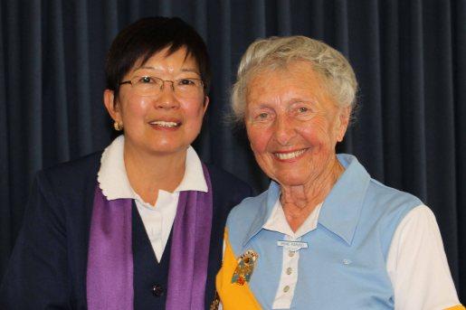 Irene Karuso (Belrose) with Jenny Wallis