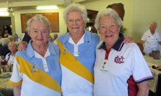 Lyn Needs, Barbara Wiggin and Wendy Salmon