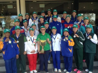 The winning Metro squad 2016