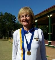 2017 Region 15 Singles Champion Julie Hayden (Mosman)