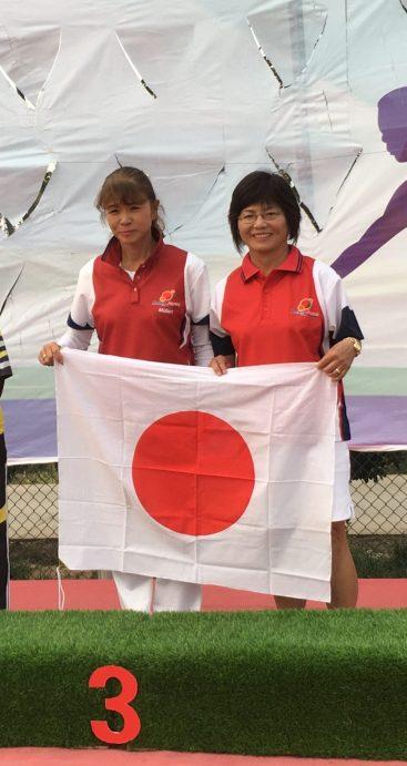 Midori Pairs Asian Champs 2018