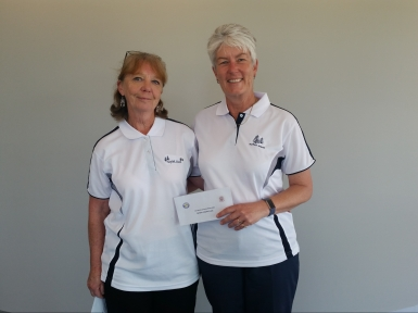 Major-Minor Pairs 4th place 2019 - Janet Robson & Vanessa Kenny (Belrose)
