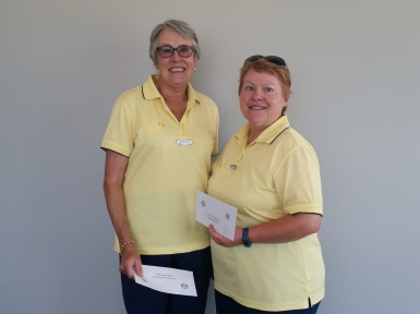 Major-Minor Pairs 3rd place 2019 - Karen Lees & Michelle Treadwell (Belrose)